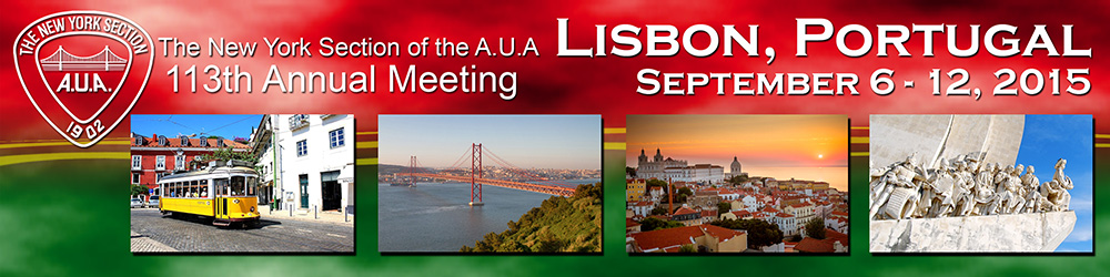 113th Annual Meeting, New York Section, AUA - Lisbon, Portugal